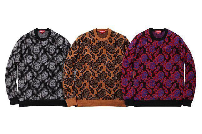 Three Rose Sweater 1