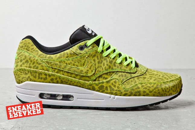 Nike Air Max 1 Fb Yell Leopard Profile 1