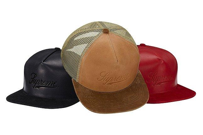 Leather Mesh Snapback 1