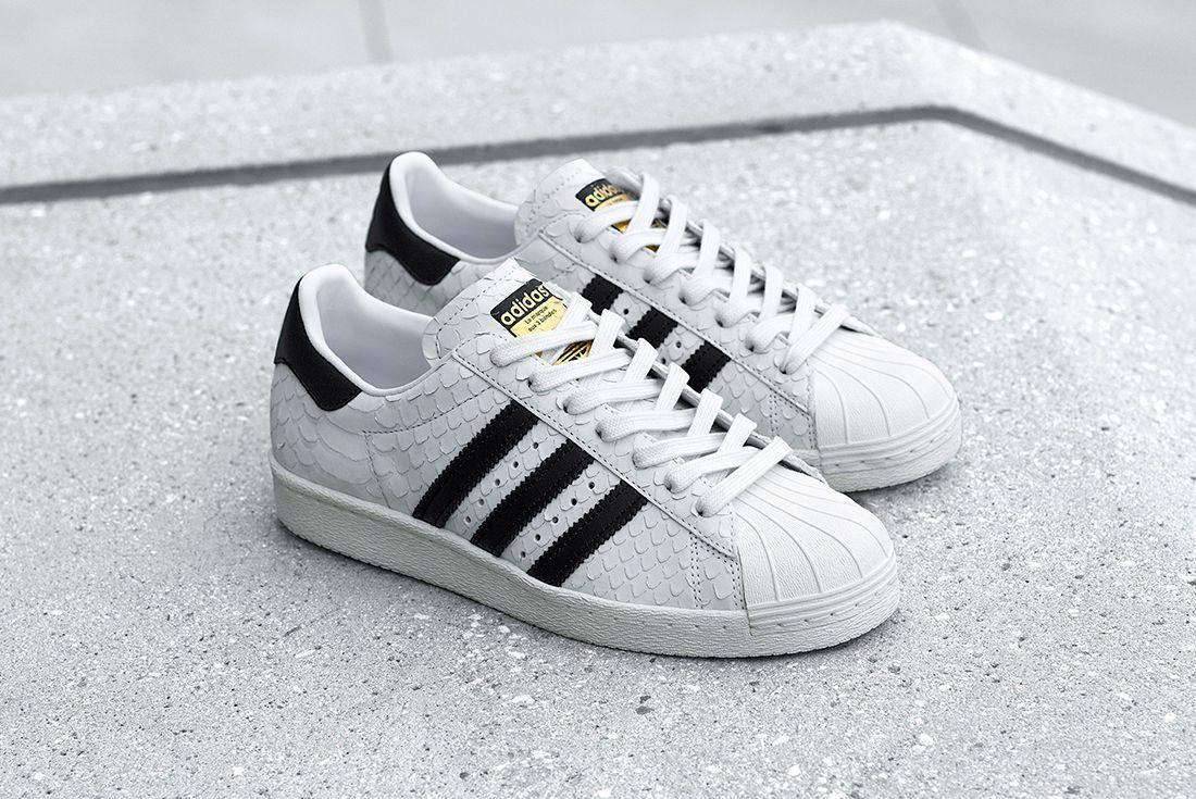Adidas Superstar 80 S Wmns Snakeskin2