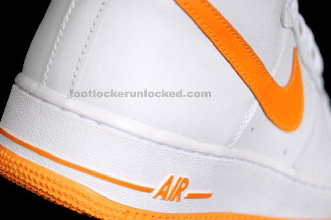 Nike Air Force 1 Hi Vivid Orange 10 1