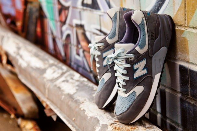 New Balance Ronnie Fieg Steel Blue 999 Kith 1 1