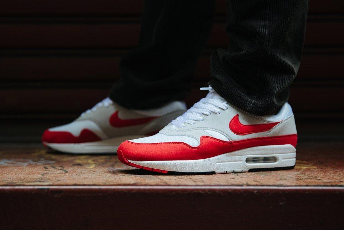 Nike Air Max 1 Anniversary Og Red White 13