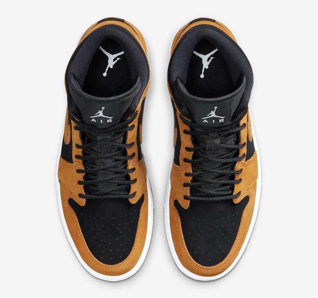 The Air Jordan 1 Mid Harvests Some 'Wheat' - Sneaker Freaker