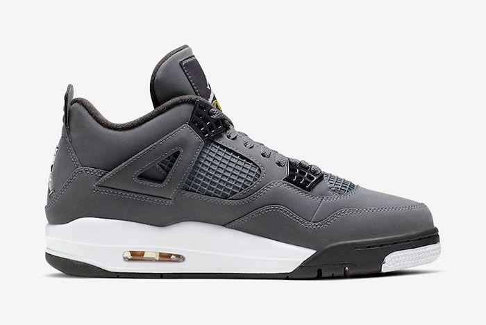Air Jordan 4 Cool Grey 308497 007 2019 Medial