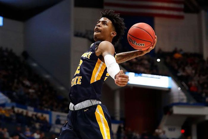 Ja Morant Signs Deal With Nike On Court Shot