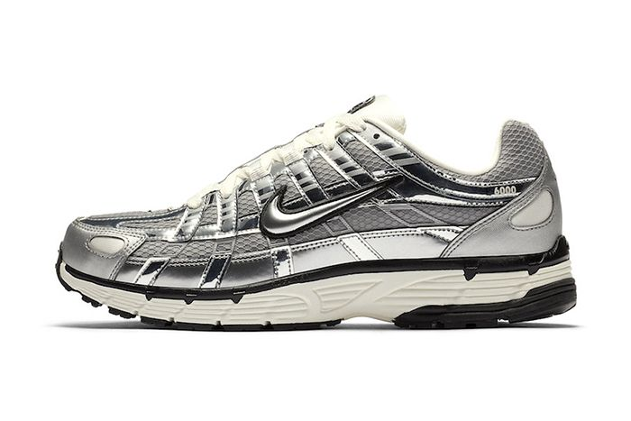 Nike P 6000 Metallic Silver Cn0149 001 Release Date Lateral