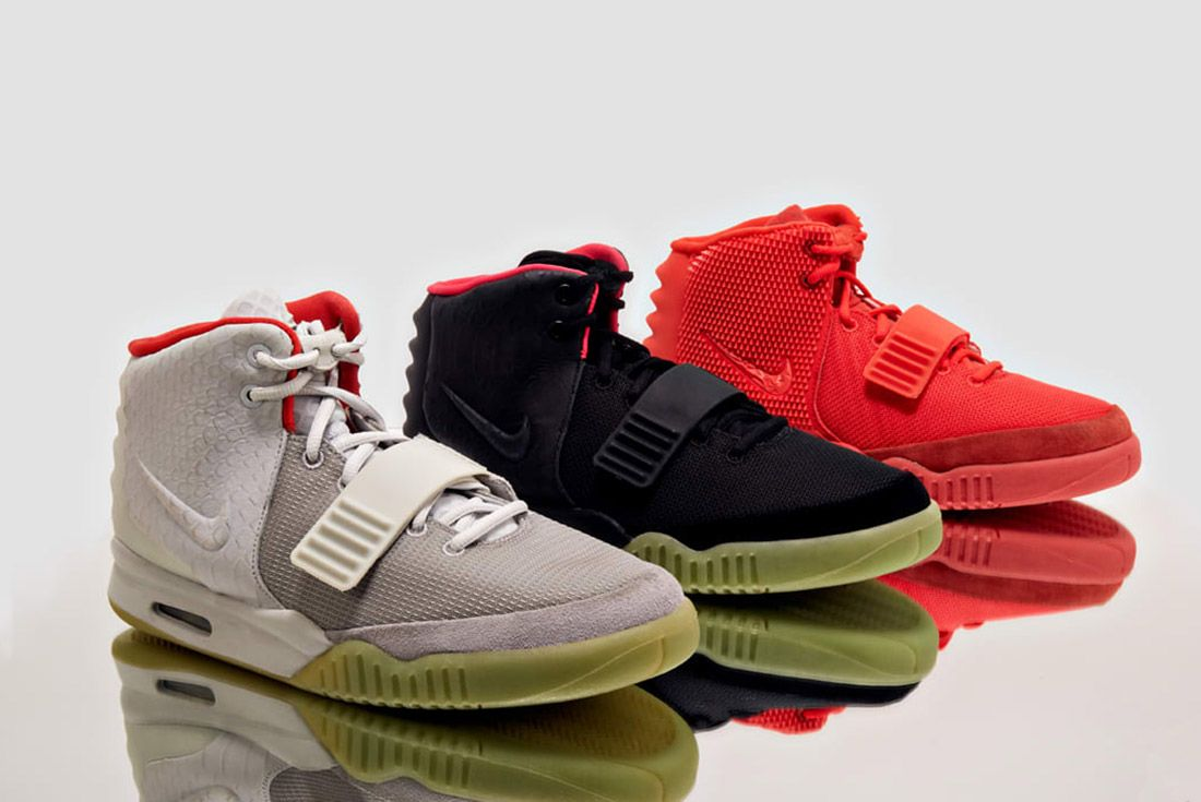 Material Matters History Of Yeezy Nike 2 All