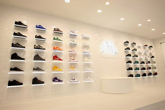 Nike Air Force 1 Xxx Anniversary The Pivot Point Pop Up Shop Tokyo Shoe Wall 1