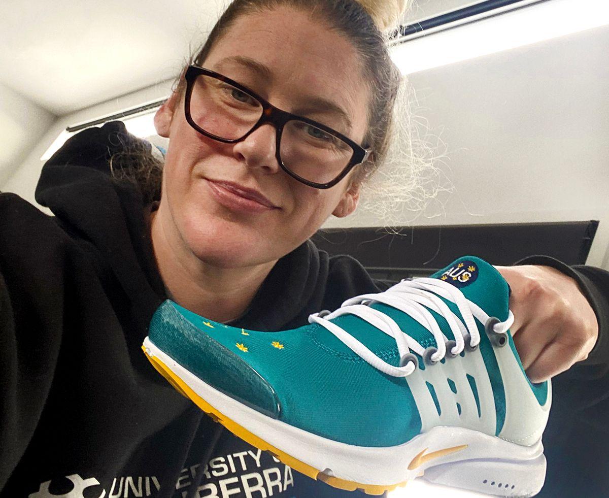 Lauren Jackson Nike Air Presto Australian Olympic