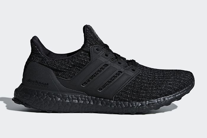 Adidas Ultra Boost Triple Black Nubuck Cage 1