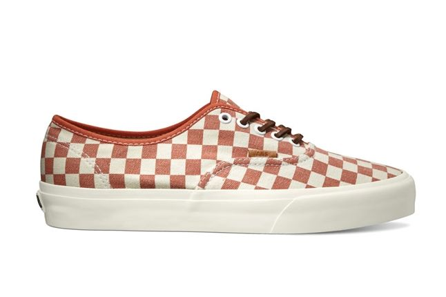 Vans California Collection Authentic Ca Checker Pack Fall 2013 Mango 1