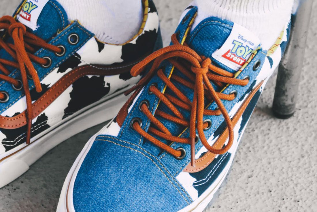 Toy Story X Vans Nuthawun