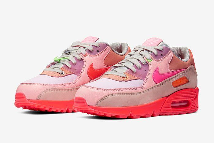 Nike Air Max 90 Pink Toe