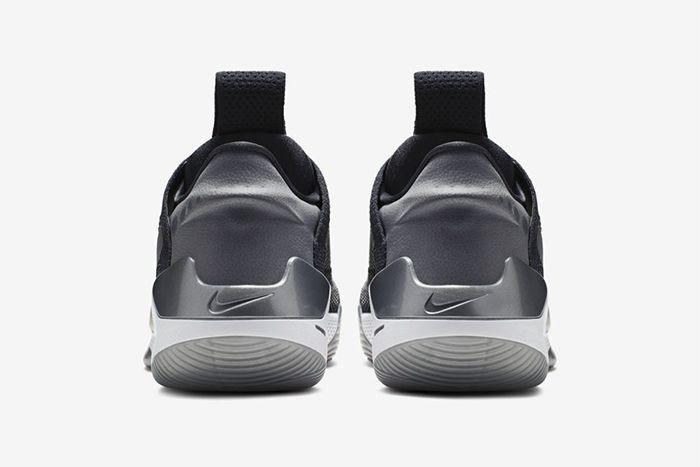 Nike Adapt Bb Dark Grey Multi Color Ao2582 004 Release Date Heel