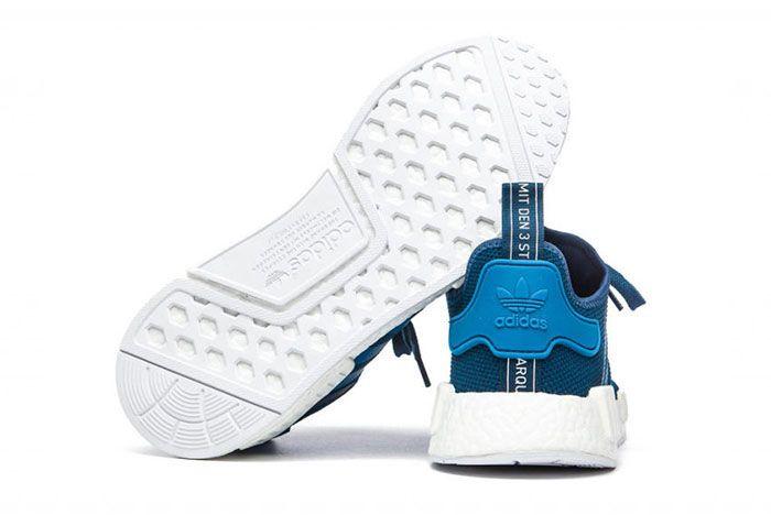 Adidas Nmd Blue White 4