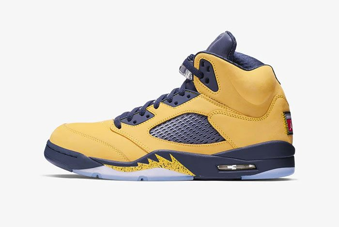 Air Jordan 5 Michigan Left