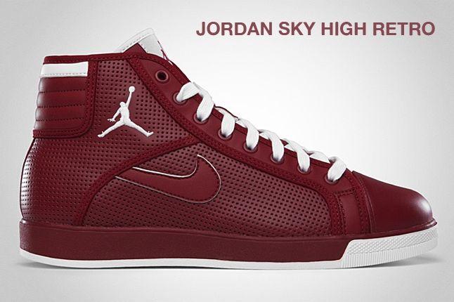 Jordan Sky High Retro Red 1