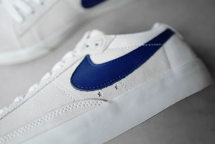 Nike Sb Polar Skate Co Blazer Low Lateral Detail