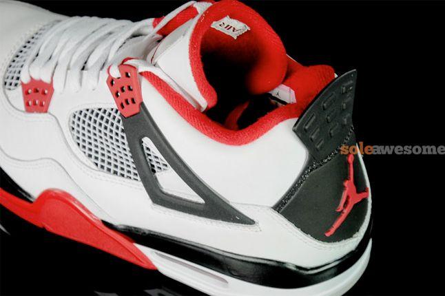 Air Jordan 4 Fire Red New Pics 8 1