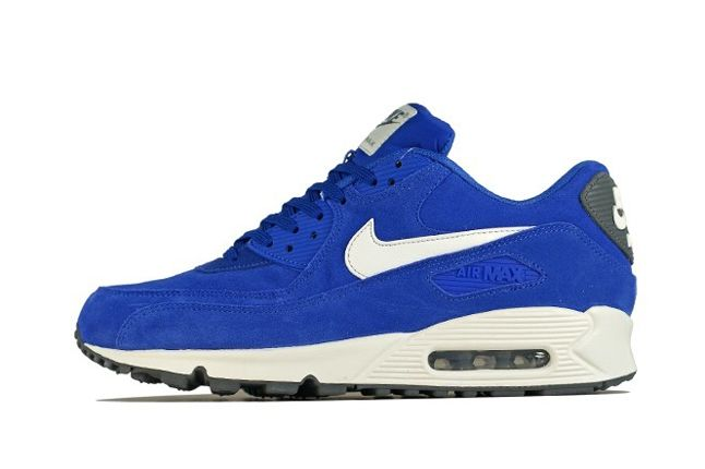 Nike Am90 Royal Blue Outer Profile 1