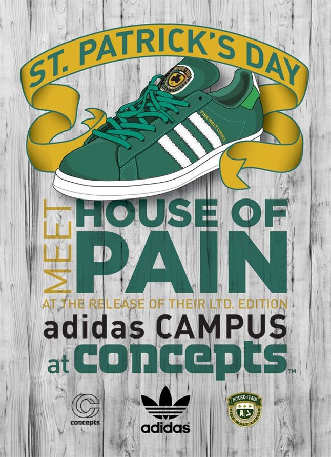 Adidas X Cncpts X House Of Pain Launch 1