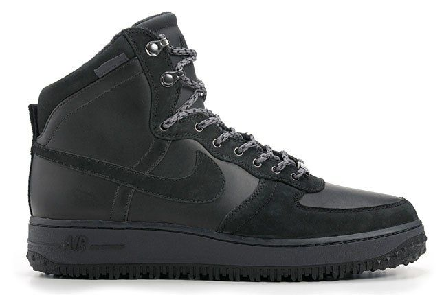 Nike Air Force 1 Deconstruct Black 1