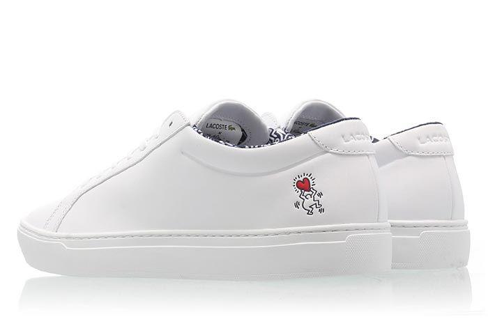 Keith Haring Lacoste 37 Cma0096 001 37 Sma0054 042 Heel Shot 1