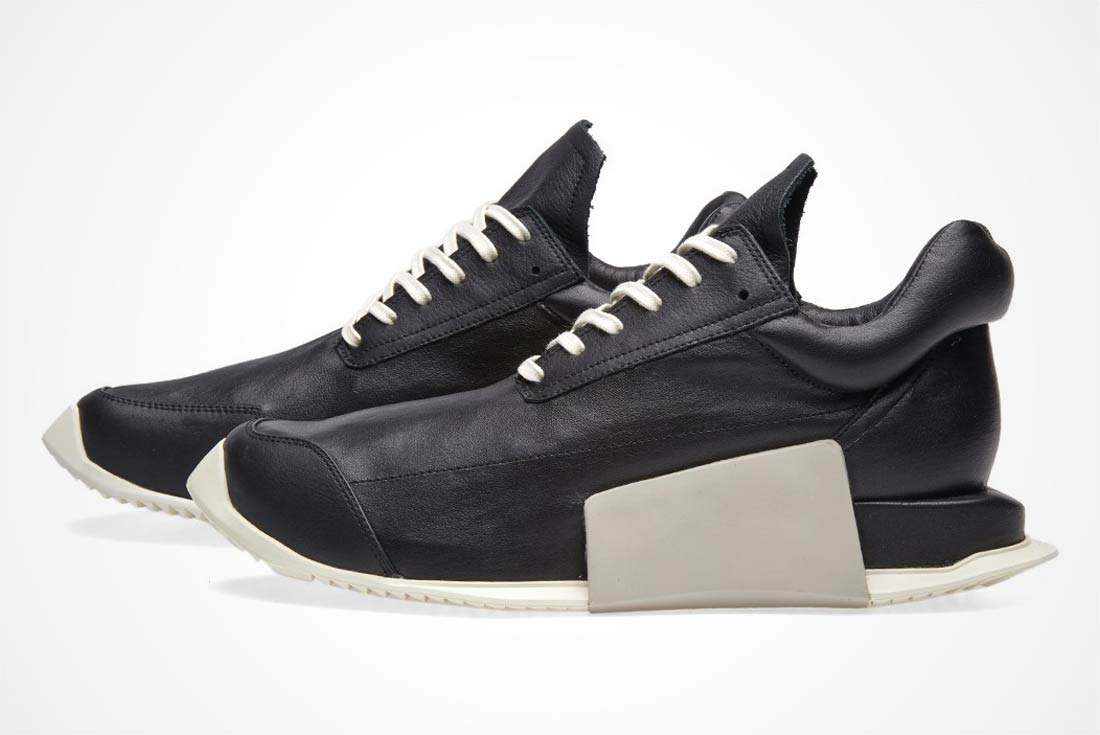 Rick Owens X Adidas Runner Level Boost 3