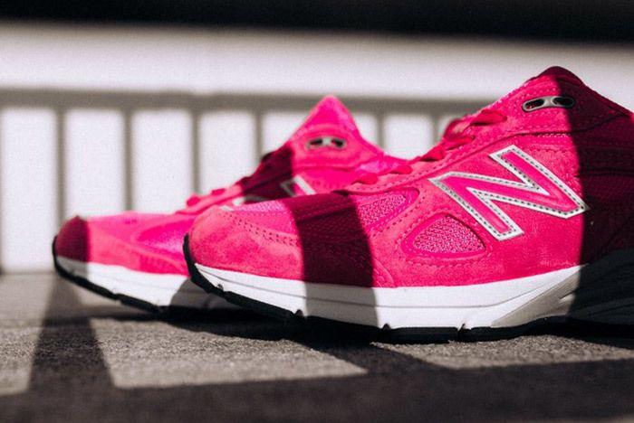 New Balance 990 V4 Komen Pink 6