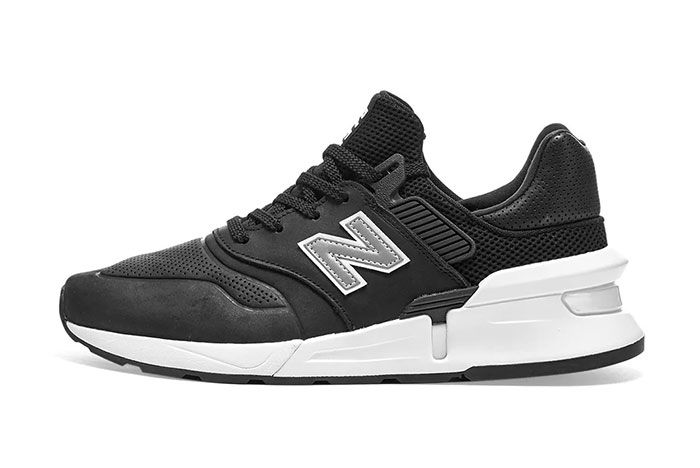 Commes Des Garcon New Balance Ms997 Black Side1