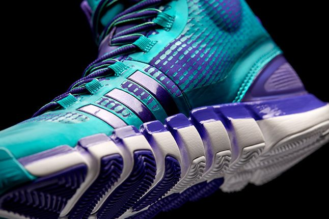 Adidas Crazyquick Teal Purple Details 1
