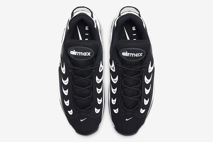 Nike Metal Max Black White Top