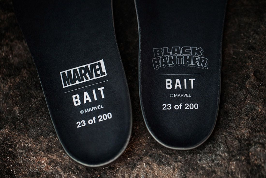 Bait Black Panther Puma Clyde Sock 6