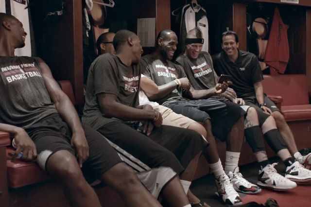 Lebron James For Samsung Always On Commercial 8