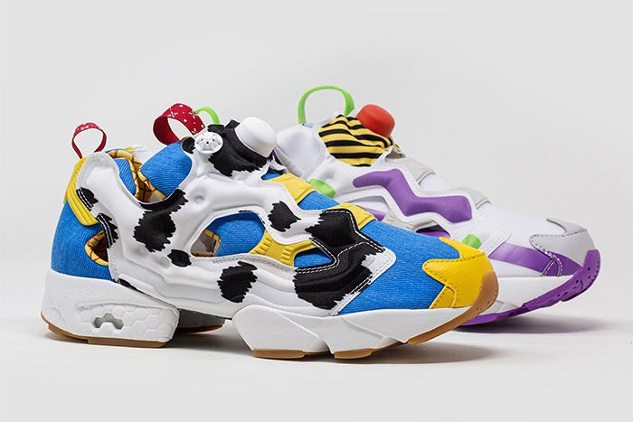 Bait Reebok Instapump Fury Toy Story 4 Woody Lateral