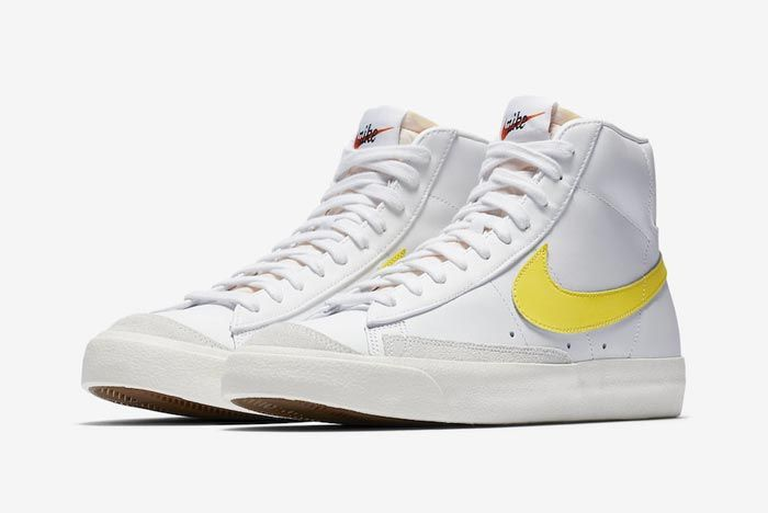 Nike Blazer Mid 77 Opti Yellow Pair