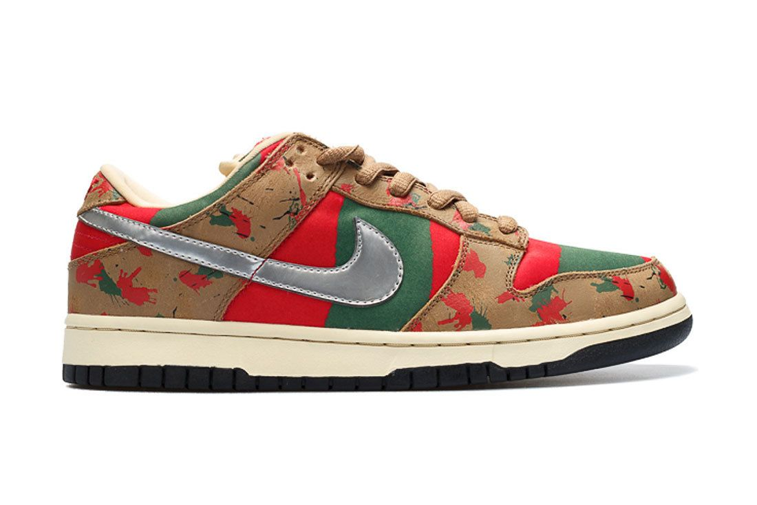 Nike Sb Dunk Low Freddy Krueger 2007 Sample
