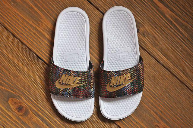 Nike Benassi Jdi Qs Multi Gold Pack 1