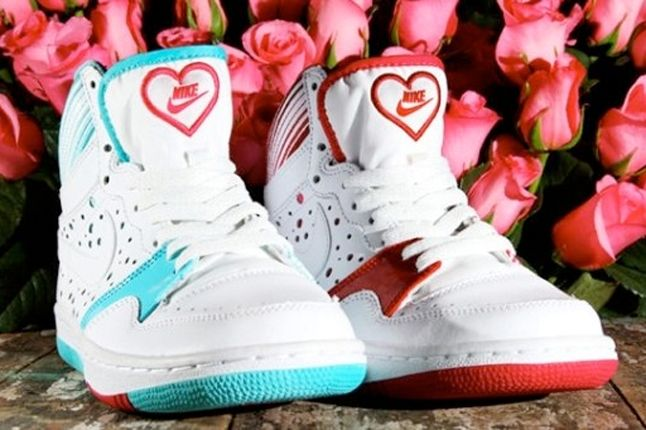 Nike Court Force One Valentines 5 1