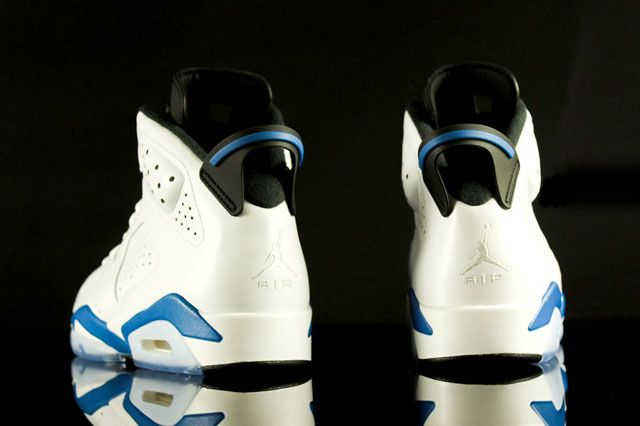 Air Jordan 6 Sport Blue Heel2
