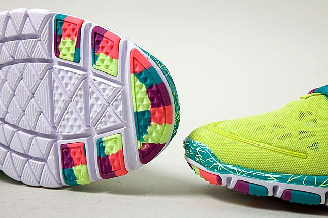 Nike Free Tr Fit 2 Green Purple Orange 1 1