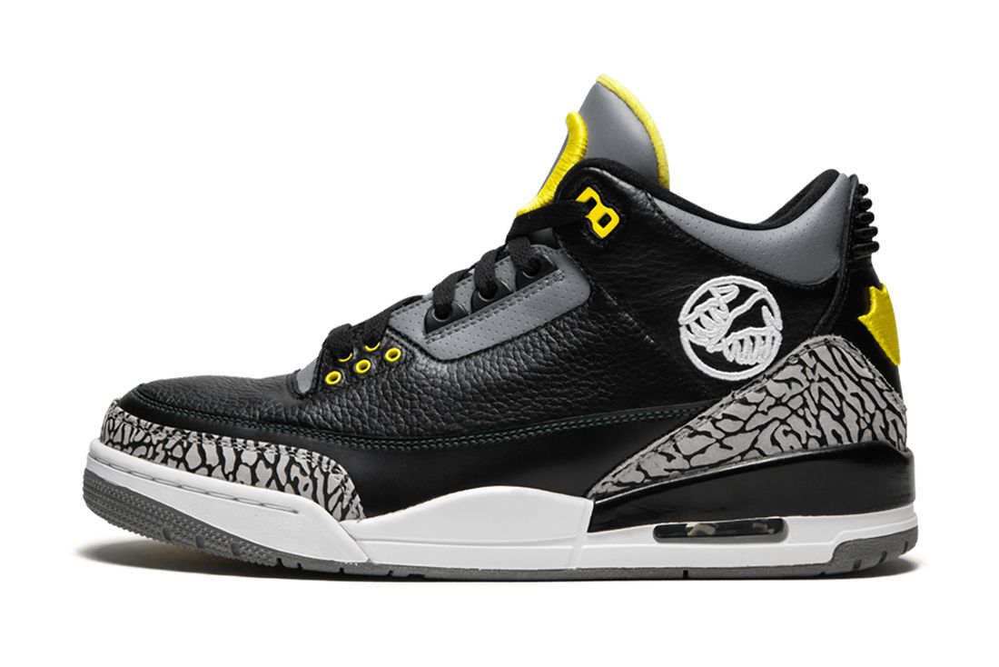 Oregon Pit Crew Air Jordan 3 Best Feature