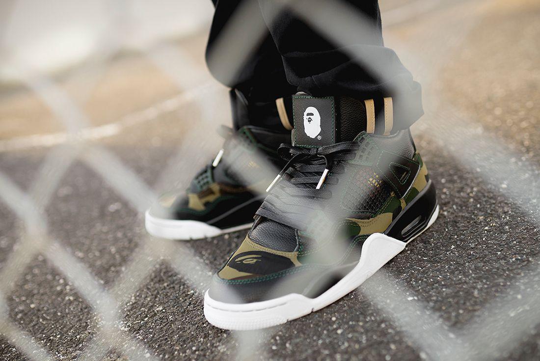 Bespoke Ind Air Jordan 4 Bape 2