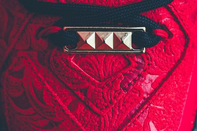 Nike Lebron 12 Ext Red Paisley 6