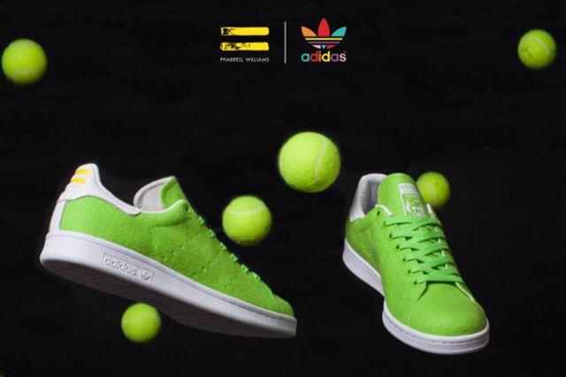Pharrell Williams Adidas Originals Stan Smith Tennis 03A 570X517