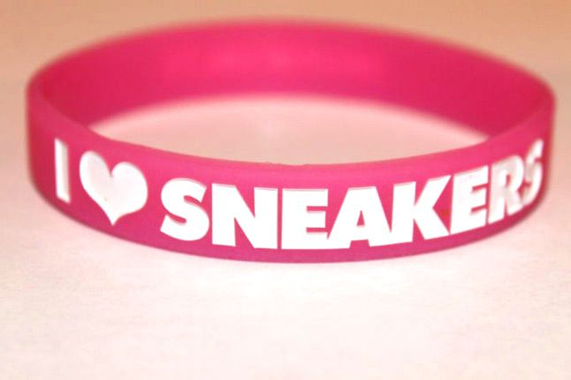 I Love Sneakers Bands Pink 1