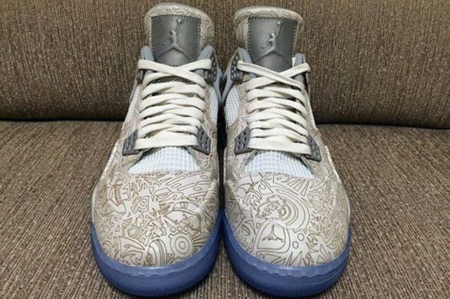 Air Jordan 4 Retro Laser3