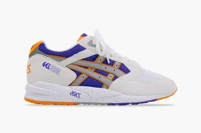Asics Gel Saga Gold Purple