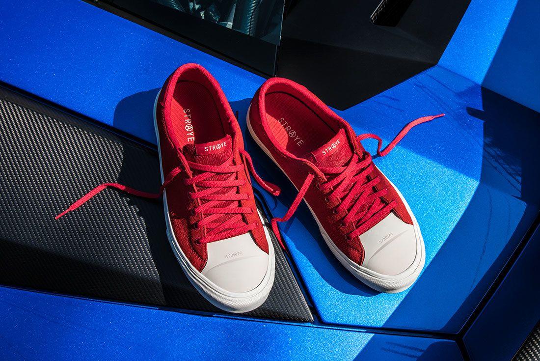 Ben Baller Red Suede Sneaker Freaker10
